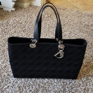 Dior cannage quilted handbag